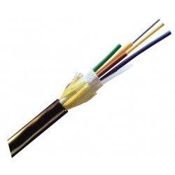 Corning - 024EU4-T4101D20 - Corning ALTOS Loose Tube, Gel-Free Cable, 24 F, Single-mode (OS2) - Fiber Optic for Network Device - Black