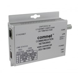 ComNet - CNFE1EOCM - Ethernet Channels Over Either Twisted Pair Or Coaxial Cables Using Vdsl2