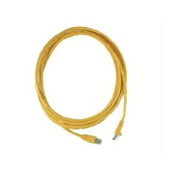 Hubbell - HC5EB15 - Blue Ethernet Cable, Connector Type: RJ45 - 8P8C, Boot Type: Clear Boot, 15 ft. Length