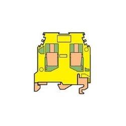 ABB - 0165 114.17 - ABB Entrelec 0165 114.17 Terminal Block, Ground, 8mm, Type: 6/8.P, Green/Yellow