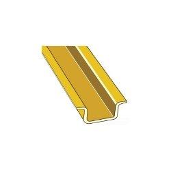 ABB - 0168 500.12 - ABB Entrelec 0168 500.12 DIN Rail, Symetrical, Solid, 32mm x 15mm, 2m Long, Steel