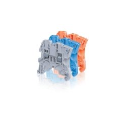 ABB - 1SNK 506 010 R0000 - ABB Entrelec 1SNK 506 010 R0000 Terminal Block, Feed Through, 6 mm, Type: ZS6, Gray