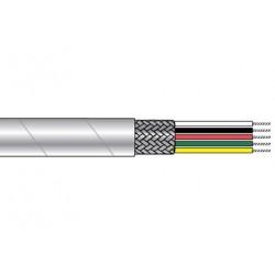 Alphawire - 2824/2 Wh001 - (priced Per Thousand Feet) M16878/4-22-2c 19 Str Spc Wht Tfe 90% Spc Brd Tfe Tape Jkt 600v 200c E-s&j