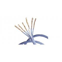 Belden / Cdt - 1700s6 0061000 - (priced Per Thousand Feet) 24-24p Composite-cmr Sol Bc 6x4pr Jacketless Po/pvc Blue Reel Banana Peel