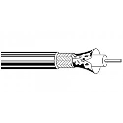 Belden / CDT - 1855A0021000 - Belden 1855A Sub-Miniature Coaxial Cable