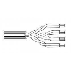 Belden / CDT - 1585A-D15-1000 - Belden DataTwist Cat.5e UTP Cable - Bare Wire - Bare Wire - 1000ft - Blue