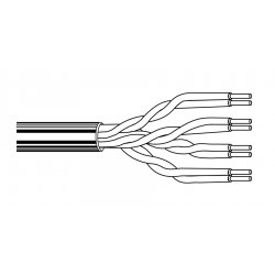 Belden / CDT - 1585A0121000 - Belden 1585A, Plenum Category 5e Nonbonded-Pair Multi-Conductor Cable