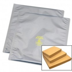 Protektive Pak / Desco - 13400 - Statshield Metal-in Open Top Static Shielding Bag