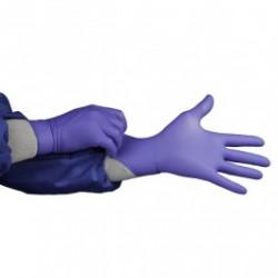 Hourglass - 1750 - HandPRO 1750 Nitrile Cleanroom Gloves, Powder-Free, Indigo Blue