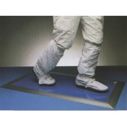 CEEC - 1836 - Cleanline Sticky Mats, Tacky Peel-Off Sheets, Numbered Corners, 18' x 36'