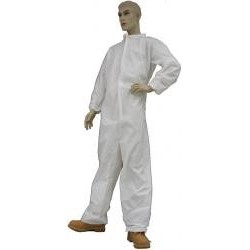Tians - 210881-2xl - Epic 210881-2xl Coveralls, White Polypro, Collar, Ew, 2xl 25/case