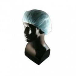 Tians - 30578 - EPIC Bouffant Caps, Polypropylene, Blue, 21' and 24', 500 each
