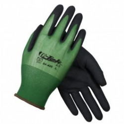Protective Industrial Products (PIP) - 34400L - G-Tek AG Seamless Knit Nylon Glove with Nitrile Coated MicroFinish Grip on Palm & Fingers - 18 Gauge