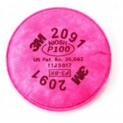 3M - 3M2091 - 3M Particulate Filter 2091/07000(AAD), (Pack of 2)