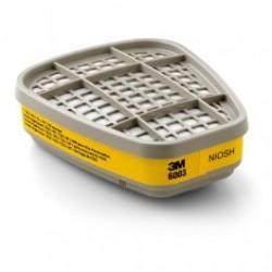 3M - 3M6003 - 3M Organic Vapor/Acid Gas Cartridge 6003/07047(AAD), (Pack of 2)