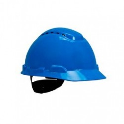 3M - 3MH-703V - 3M Hard Hat, H-700 Series, 4-Point Ratchet Suspension, Vented, Blue