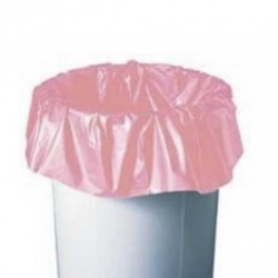 ACL Staticide - 5076P - Anti-Static 10-16 Gallon Trash Liner, Pink,
