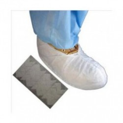 Tians - 514683 - EPIC Anti-Static Polypro Shoecover, Anti-Skid Bottom, White