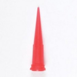 JA Crawford - 7018391 - Tapered Dispensing Tip, SmoothFlow, Red, Standard, 25 guage