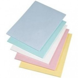 Essentra - 7177 - Cleanroom Bond Paper, 22.5 lb, 8.5' x 11', Different Colors