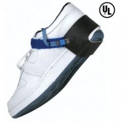Desco - 7590 - Heel Lined Foot Grounder, 1meg