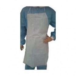 Tians - 8268736 - Tians 82687-36 Apron White PE Coated SPP 28 x 36, Sold 100/ Case
