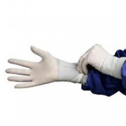 Hourglass - 9100 - HandPRO 9100 Cleanroom Class 100 Nitrile Gloves, Accelerator & Sulfur Free, White, Powder Free, 12' Length