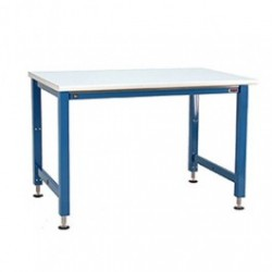 American Cleanstat - ACS24AE72F - Electric Hydraulic Lift Workbench with Laminate Top, 24'D x 72'W, 1, 000 Lb