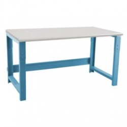 American Cleanstat - ACS24R60F - Workbench, Laminate Top, 24'D x 60'W x 30 - 36' 1, 000 Lb