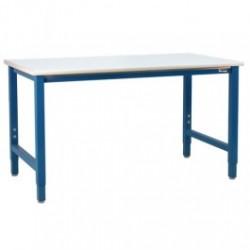 American Cleanstat - ACS36K72F - Premium Workbench, Laminate Top, 36'D x 72'W x 30 - 36'H, 5, 000 Lb