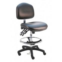 American Cleanstat - ACSCR-WT - Premium Cleanroom Chair, Tall, Class 100