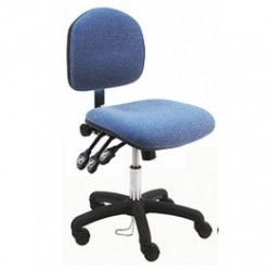 American Cleanstat - ACSDF-LS - Deluxe ESD Fabric Chair, Desk Height
