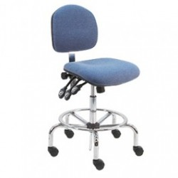 American Cleanstat - ACSDF-LT - Deluxe ESD Fabric Chair, Tall