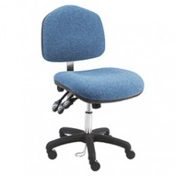 American Cleanstat - ACSDF-WS - Premium ESD Fabric Chair, Desk Height