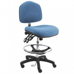 American Cleanstat - ACSDF-WT - Premium ESD Fabric Chair, Tall