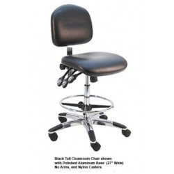 American Cleanstat - ACSDV-LT - Deluxe ESD Vinyl Chair, Tall