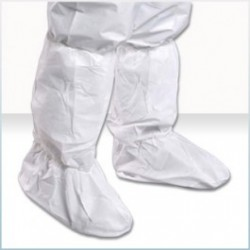 Alpha ProTech - BTA-T18 - Critical Cover AquaTrak UltraGrip Assurance Boot Covers, Sterile, White
