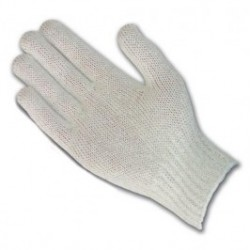 Protective Industrial Products (PIP) - C104 - Uncoated Cotton Polyester Knit Gloves, 7 gauge, Standard Weight, Natural Color