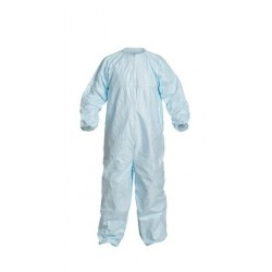 DuPont - CC252BBUS - Tyvek Micro-Clean 2-1-2. Coverall. Sterile, Blue