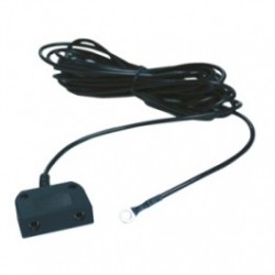 Transforming Technologies - CP2522NR - Low Profile Common Point Ground Cord, No Resistor, Male Snap