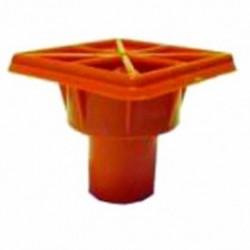 Cortina - CSP97-1810 - CAL-OSHA Orange Rebar Cap