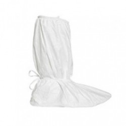 DuPont - IC458BWHCS - Tyvek IsoClean Boot Covers, Clean Processed & Sterile, 18' High. White