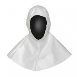 DuPont - IC668BWHCS - Tyvek IsoClean Hoods. Clean Processed & Sterile, White