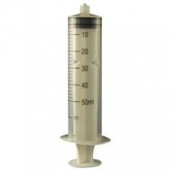 Jensen Global - JG50CCLL - Manual Syringe, 50cc, Assembled and Calibrated