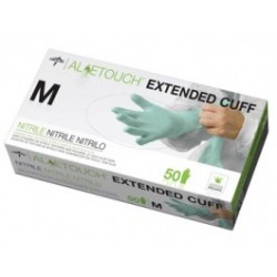 Medline - MDS19518 - MDS19518 Aloetouch Nitrile 12 Inch Powderfree Exam Gloves