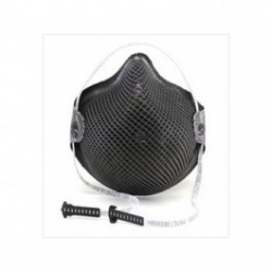 Moldex - MOLM2601N95 - HandyStrap M2600N95 Particulate Respirator, Special OPS Black with Dura-Mesh Shell
