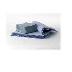 Hospeco - MS7515 - Spunlace Polypropylene Blue Wipers, 12 x 12