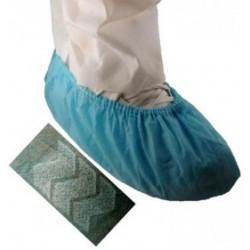 Tians - 514673 - EPIC NSR Series Nonskid Sole Polypropylene WS Shoecovers, Light Blue