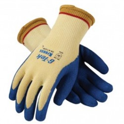 Protective Industrial Products (PIP) - 09-K1300 - G-Tek K-Force Seamless Knit Kevlar Glove with Latex Coated Crinkle Grip on Palm & Fingers
