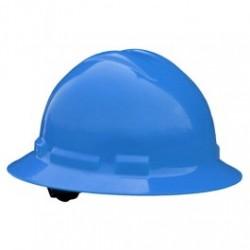 Radians - RADQHR4-B - Radians Quartz Full Brim Hard Hats, 4 Point Ratchet Suspension System, Blue